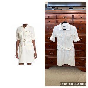 Nordstrom Sharagano Utility Shirt Dress, size 6